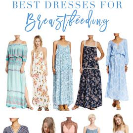 Best Dresses for Breastfeeding