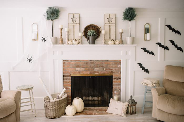 Our Living Room Halloween Decor Lynzy Co
