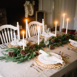 How to Create a Beautiful Christmas Tablescape