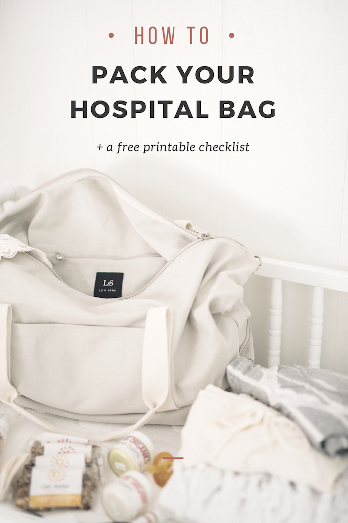 Packing your Hospital Bag: What You REALLY Need