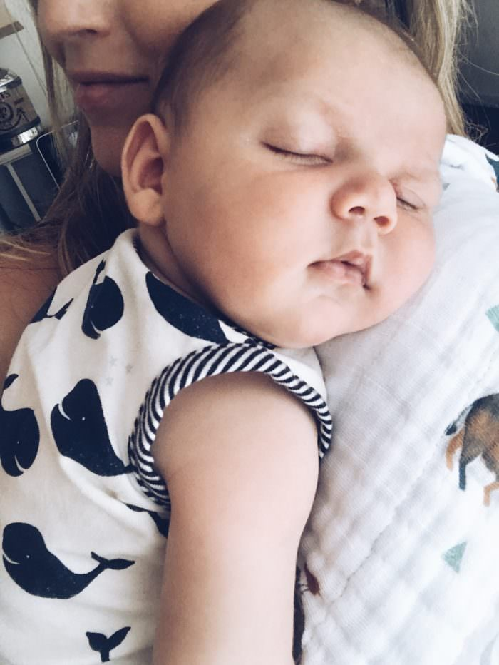 Blogger Lynzy of Lynzy & Co. tells us all about postpartum life in week 3!