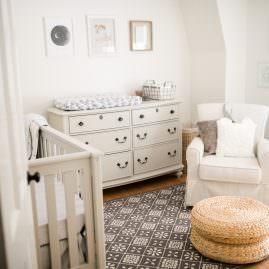 Neutral Baby Nursery with Wendy Bellisimo