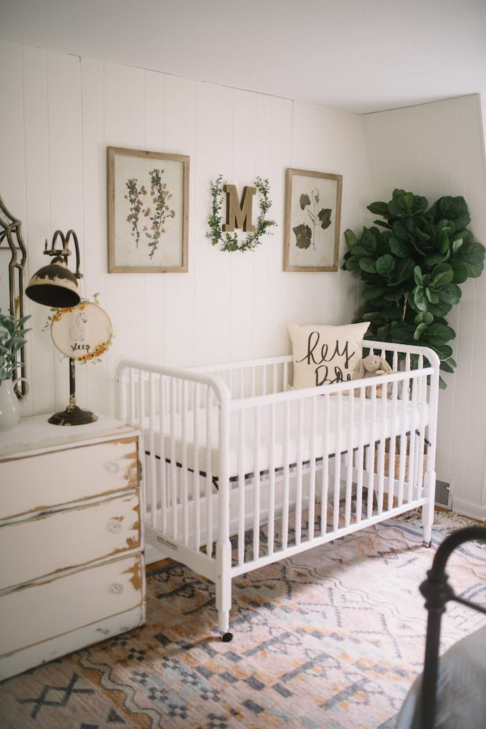 Crib And Toddler Bed Shared Room Boy