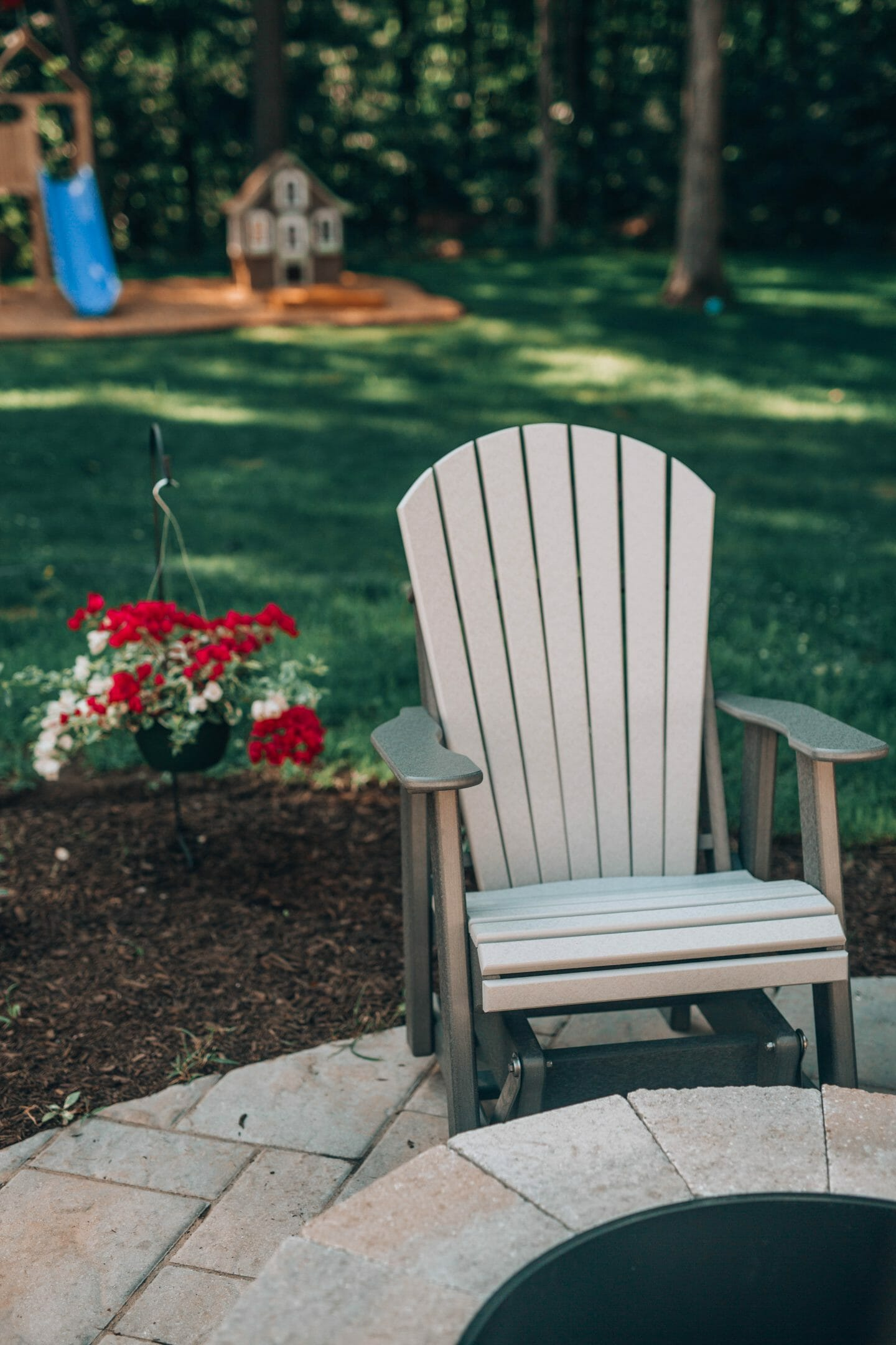 Our Backyard Makeover complete with before and after images!