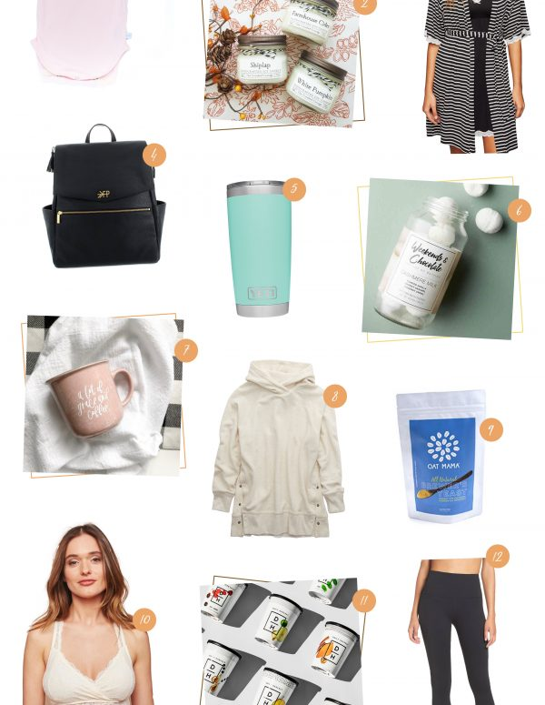 Best Gifts for Expectant Mothers | Everything from nursing friendly sweatshirts to amazing smoothies that she can whip up in a jiffy!