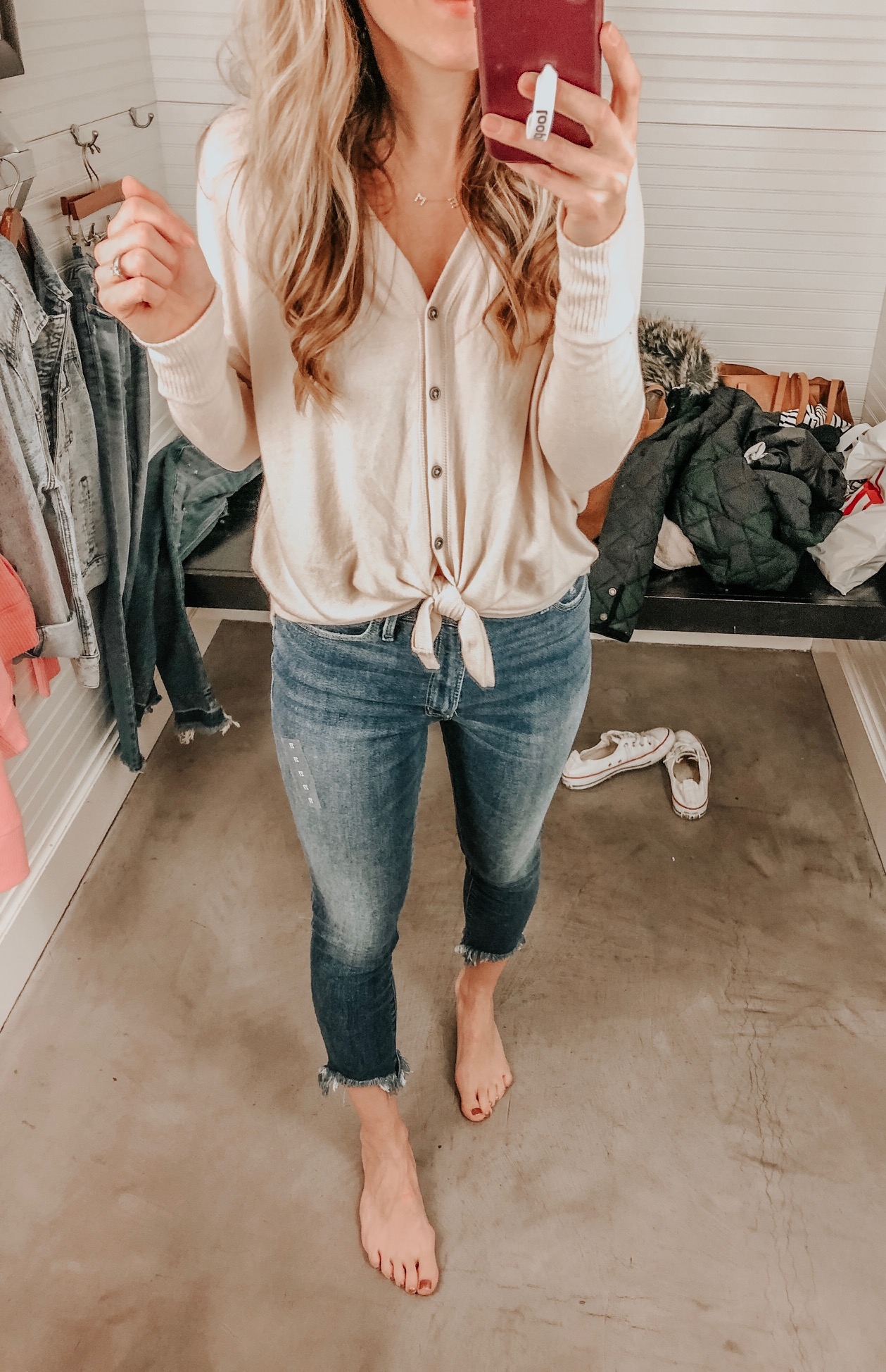 Abercrombie Try On Session in January